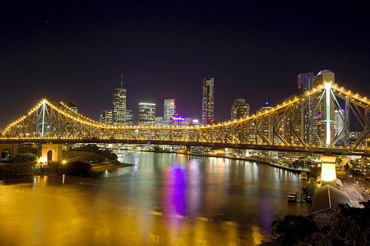 The CBD at night...(photographed by Glenn Hunt)
