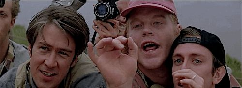 """Philip Seymour Hoffman's Dusty is arguably the funniest character in any movie ever. 