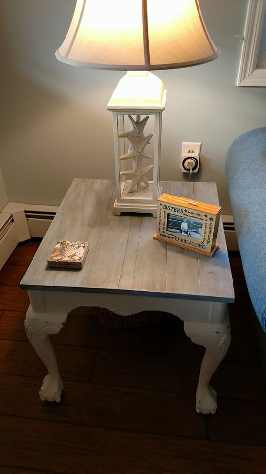 Do THIS to your old end table to make your living room decor look like you spent hundreds—and it only costs $60!