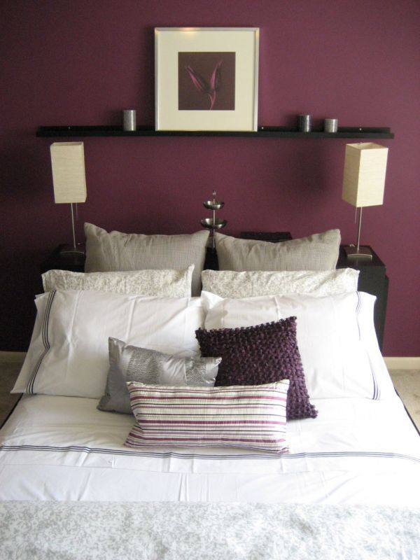 Black And White And Purple Bedroom best 20+ plum walls ideas on pinterest | purple bedroom paint