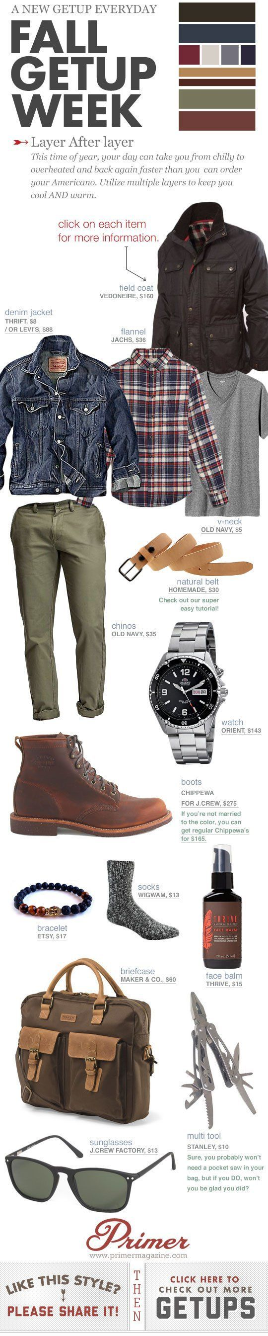 Fall Getup Week: Layers After Layers | Primer
