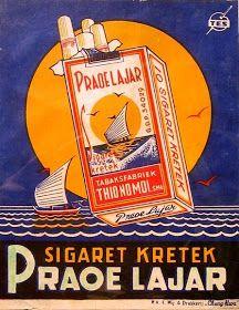 Cigarette ads Praoe Lajar