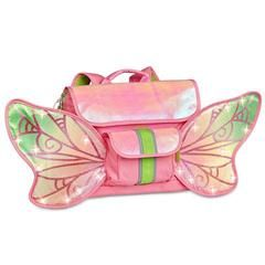 £35.00 Bixbee Pink Fairyflyer - Lights up!  What a magical way to get children to carry their own things! Its pink, glittery and has fairy lights...its too good to be true for little ones who love sparkle. Great for an early years school bag as well!