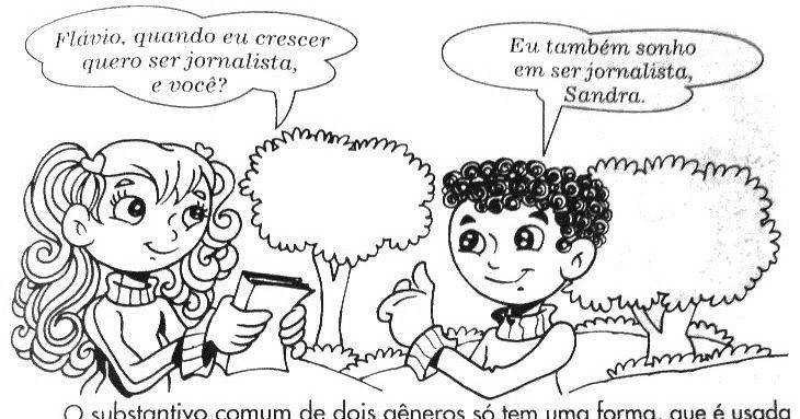 GÊNERO DO SUBSTANTIVO MASCULINO FEMININO DOIS GÊNEROS SOBRECOMUM EPICENO ATIVIDADES IMPRIMIR . Atividades de Gramática - Gênero do…