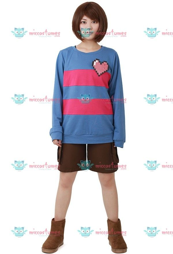 Undertale Frisk Cosplay Costume For Sale