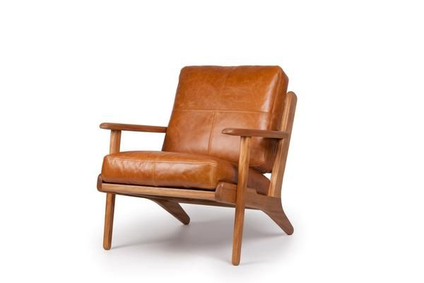 Map Arm Chair Tan Leather Brown Leather Chairs Leather Lounge