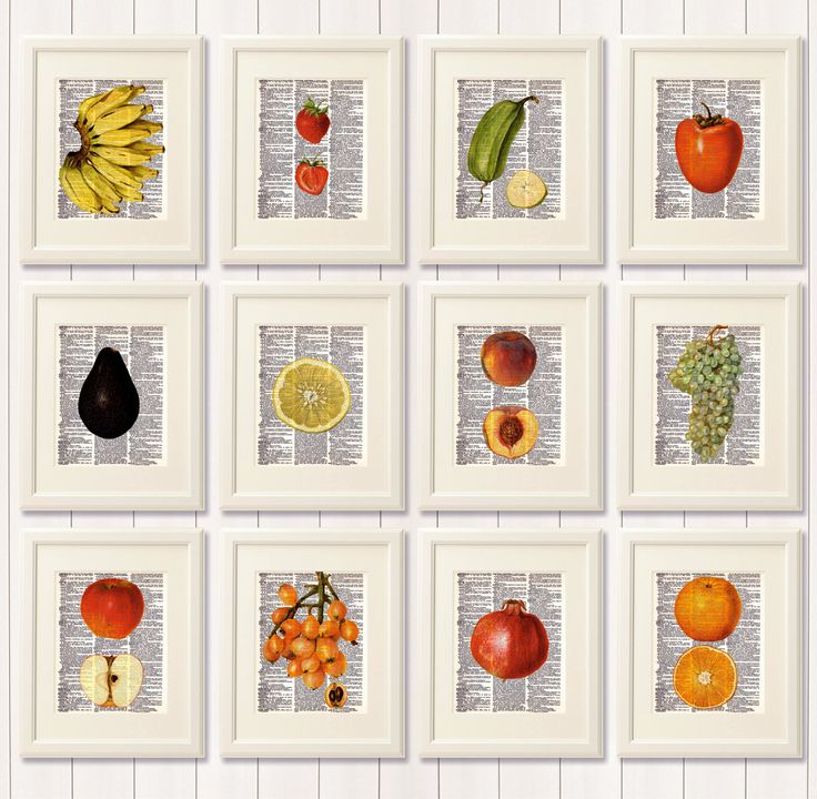 Fruit Wall Decor Kitchen