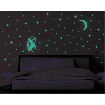 Sticker Fosforescent - Sagetator : Fosforescente - ★ Stickere Decorative ★ Stickere.Net ✫ Autocolante decorative de perete ®