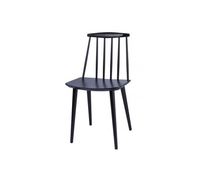 HAY - J77 Stuhl - schwarz