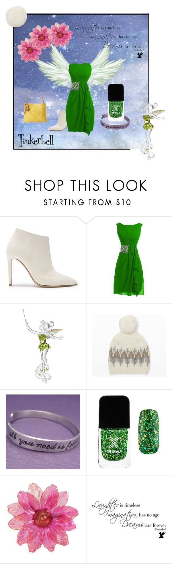"""""""Tinkerbell"""" by gurvina ❤ liked on Polyvore featuring Swarovski, Club Monaco, Formula X and Brighton"""
