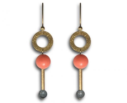 Beautiful earrings from SUM - IN collection.