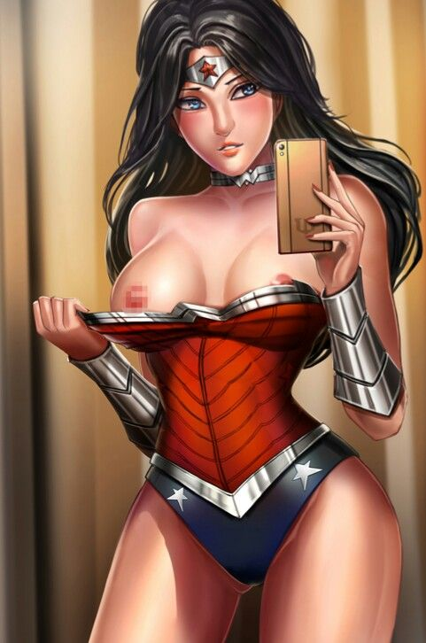 comic super hero women nude