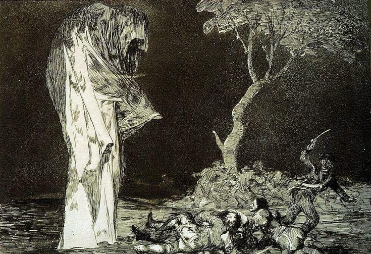 Francisco Goya  'Fear and Folly'