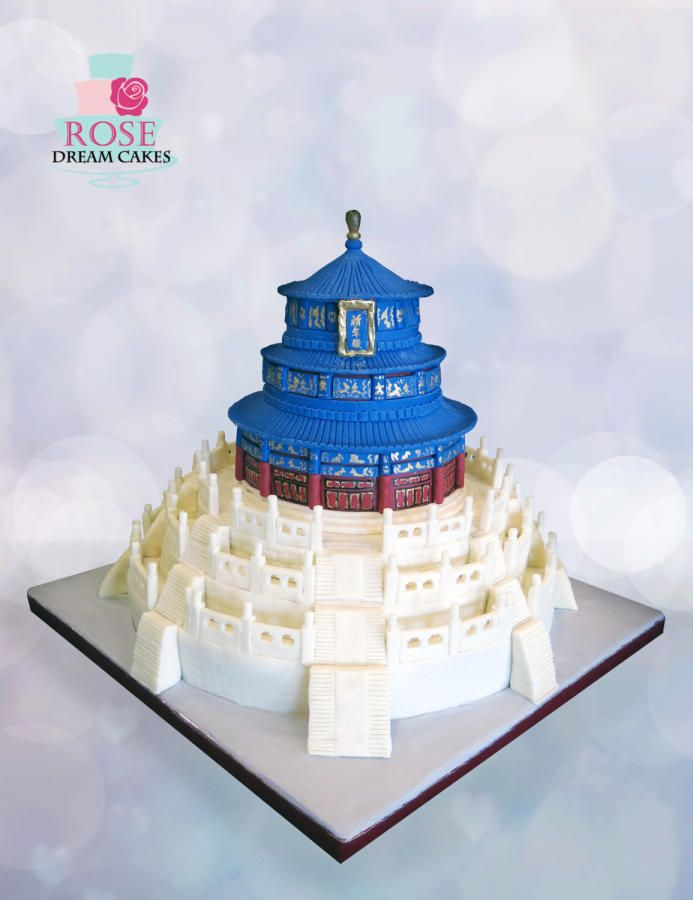 Temple of Heaven by Rose Cakes & Cake Decorating ~ Daily ...