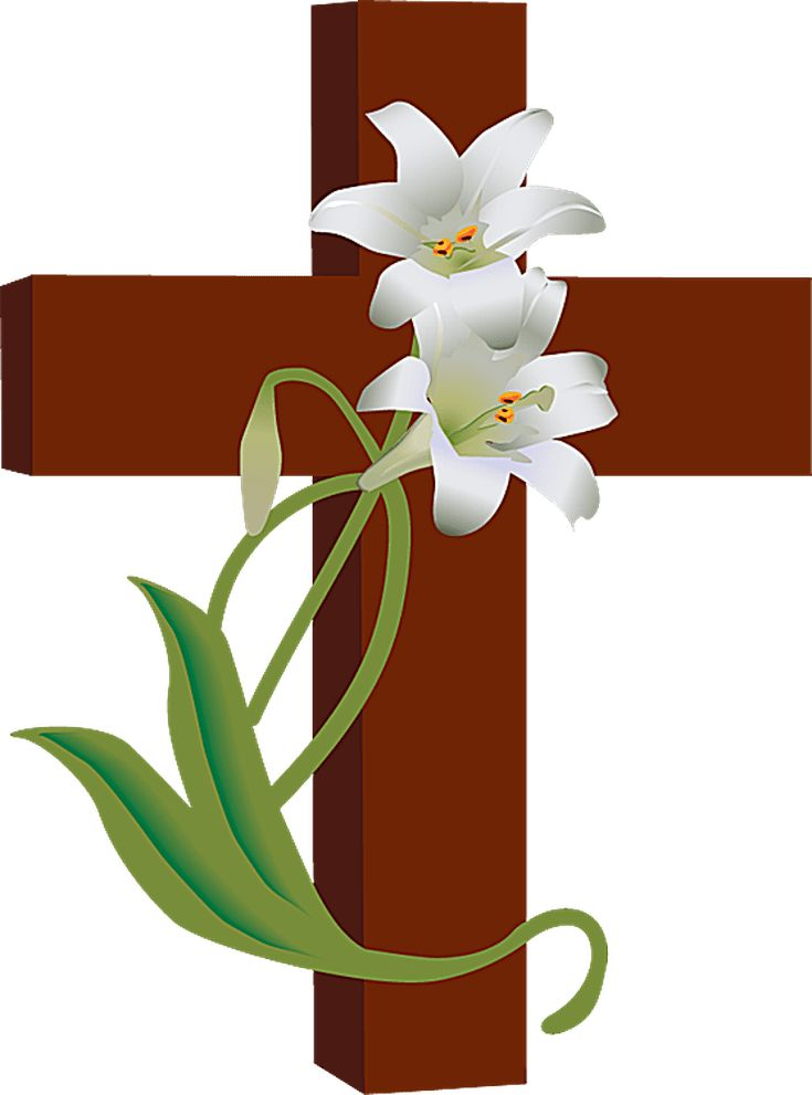Spring Clip Art: 97 Best The Cross And Flowers Images On Pinterest