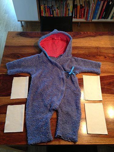 Baby Overall nähen 2