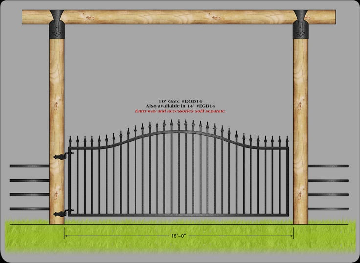 This is the gate i want with a texas star of course