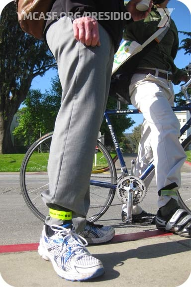 This is how you rock business casual.  -Bike to Work Day, May 10, 2012