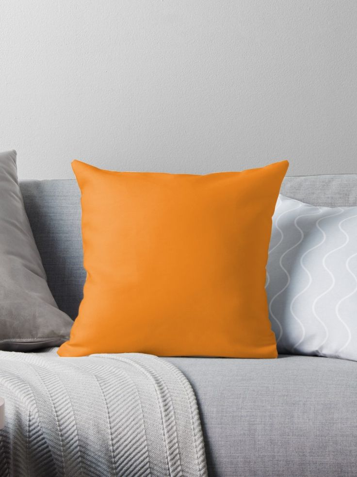 'Apricot' Throw Pillow by Moonshine Paradise #apricot #food #pantone #pillows #decor