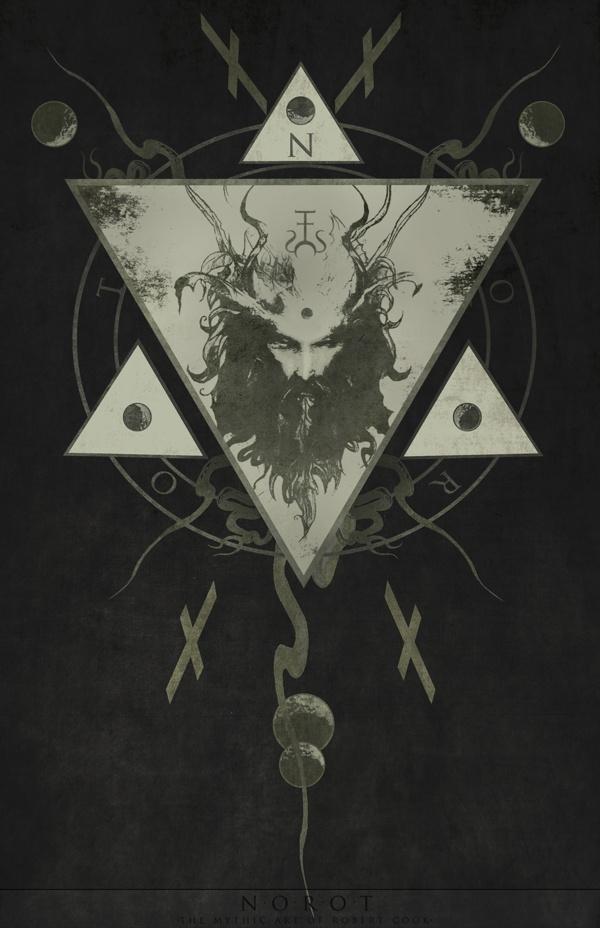 E Q U I N O C T I U M by Robert W. Cook, via Behance #illustration #drawing #occult #green #man #equinox #mythology