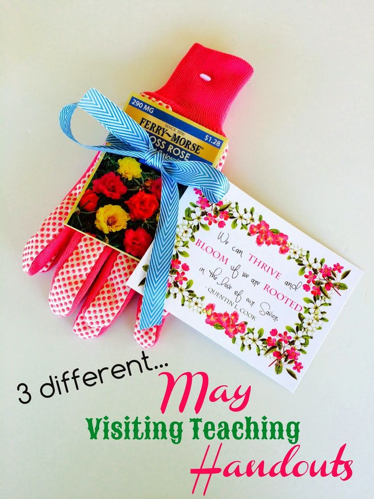 May Visiting Teaching Handouts. From Marci Coombs Blog