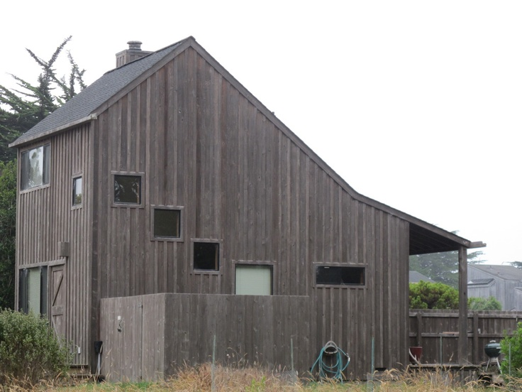 Sea Ranch cabin.