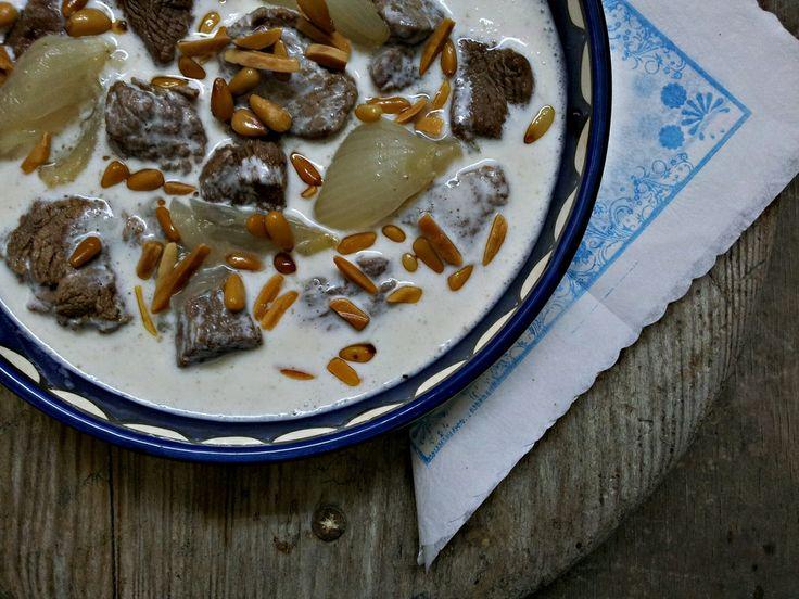 Hovězí kostky v jogurtu