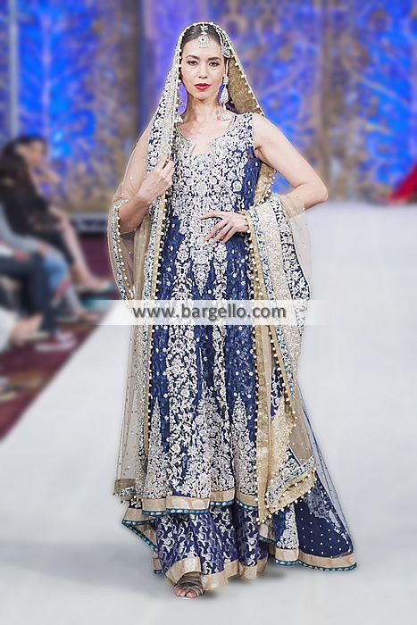 Pakistani Bridal Dresses Stockholm Sweden Bridal Dresses Zainab Chottani PBCW 2014