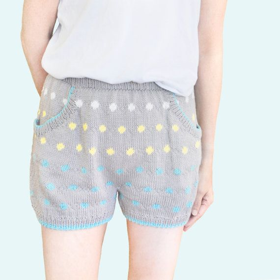 Knitted PJ Shorts