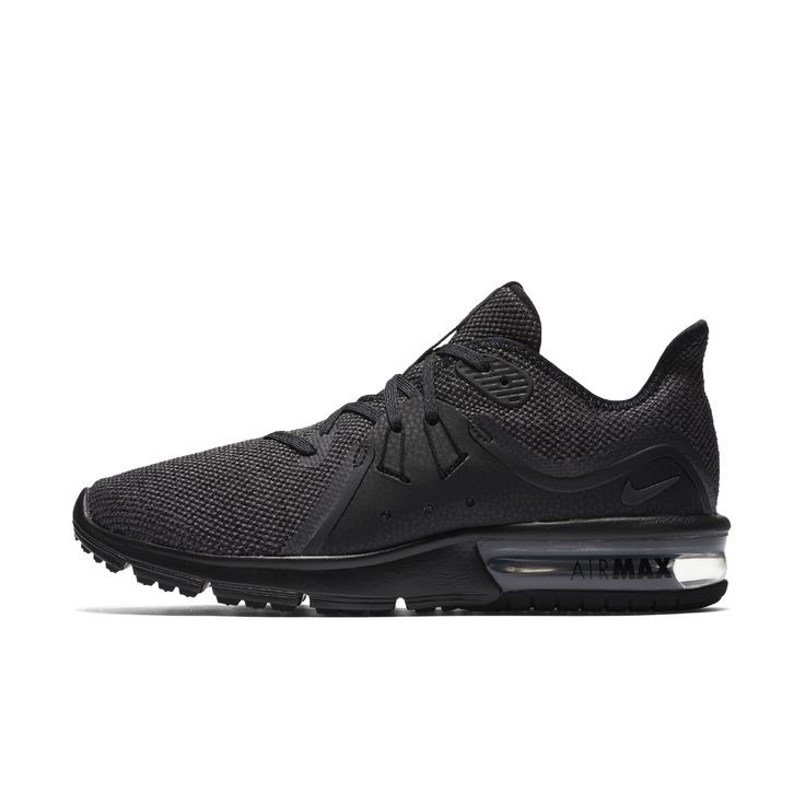 Nike Air Max Sequent 3 Women's Running Shoe Size 11.5 (Black)