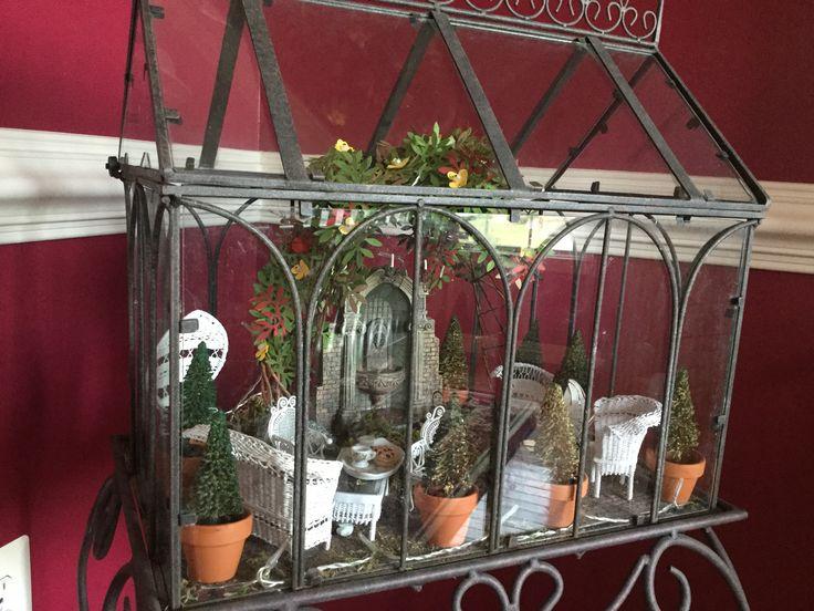"Miniature Scene - ""The Conservatory"""