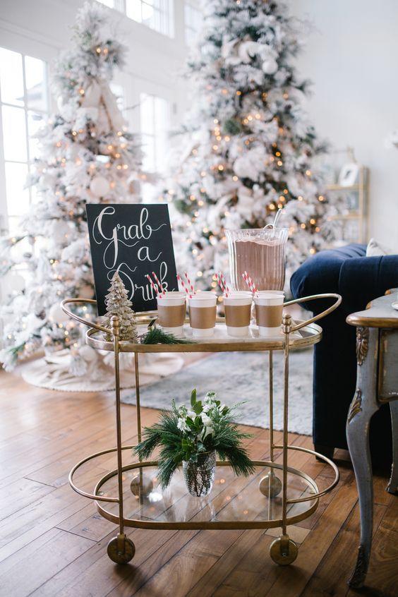 Decorar Casa Navidad Manualidades.Prepara Un Coffee Bar Navideno En Casa Navidad