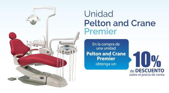 Obtenga un 10% de #descuento en la #UnidadDental Pelton & Crane Premier