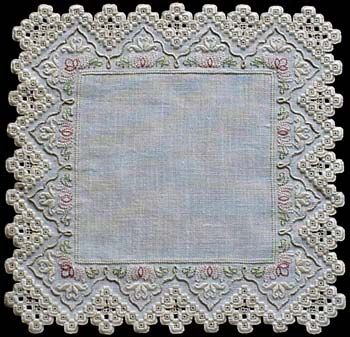 Antique Beauty (Hardanger embroidery)