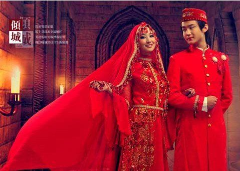Chinese Muslim Hhui-couple-theme-wedding-dress-lovers-two-pieces-of-clothing-and-beautiful-National.jpg