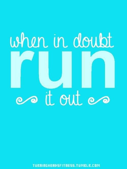 Running Matters #175: When in doubt, run it out.