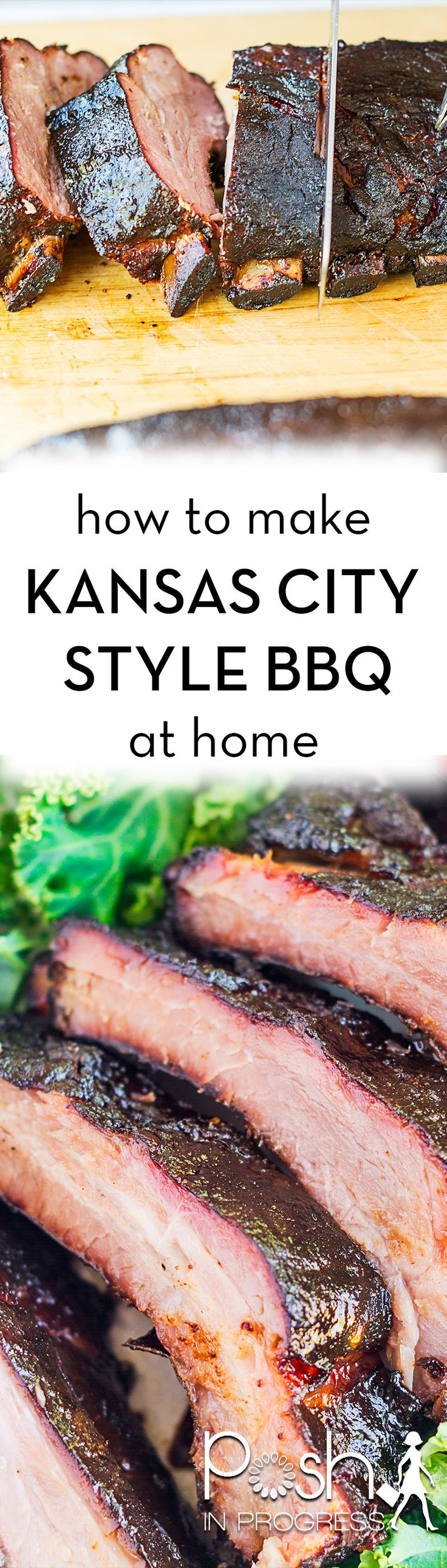 We really missed Kansas City style BBQ so much, we tried to make it ourselves at home on our regular charcoal grill. It turned out great! See how we did it. #GetGrillingAmerica [ad]