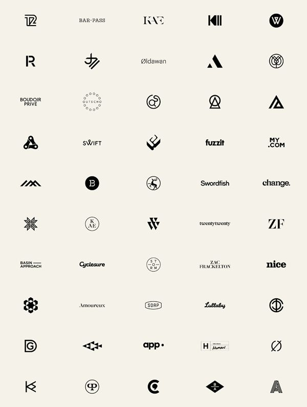 Collection of Marques and Logotypes. Socio Design is a London, United Kingdom based graphic design studio that works closely with clients to create brand i