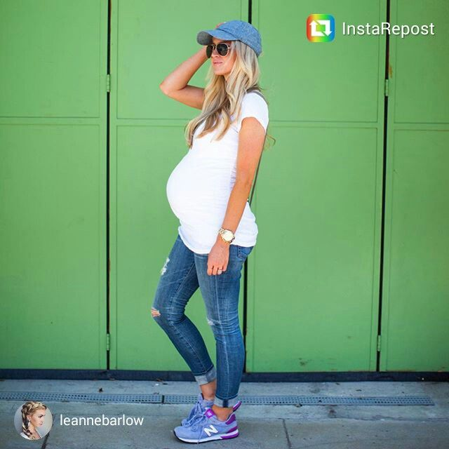 Cute maternity fashion --- comfy and classic