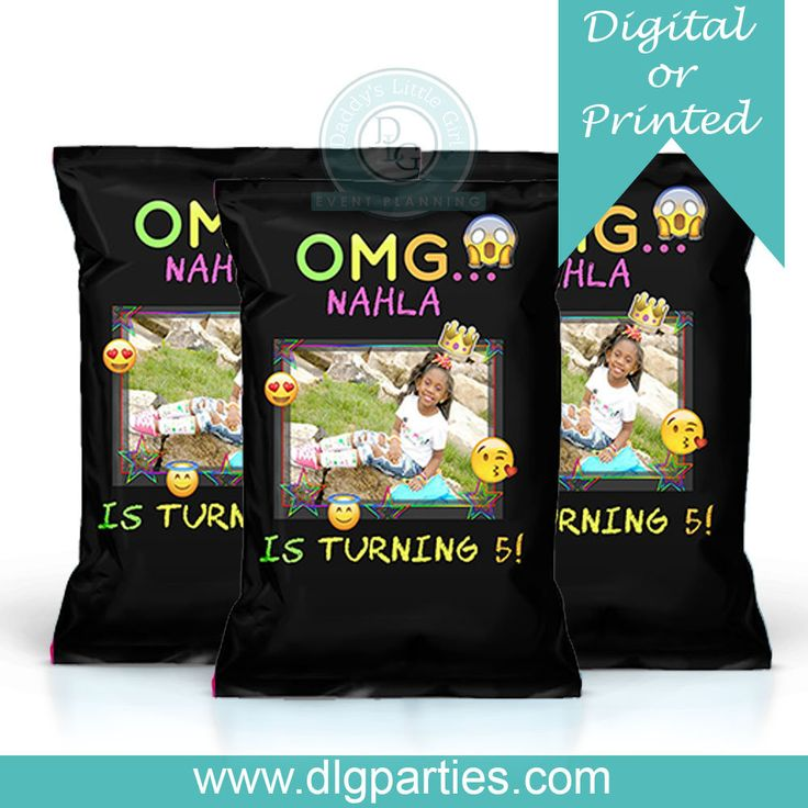 Excited to share the latest addition to my #etsy shop: Emoji Custom chip bags - Digital - Printed - Favor Bags - Treat Bags - Snack Bags - Loot Bags - Goody Bags http://etsy.me/2HPIBFj