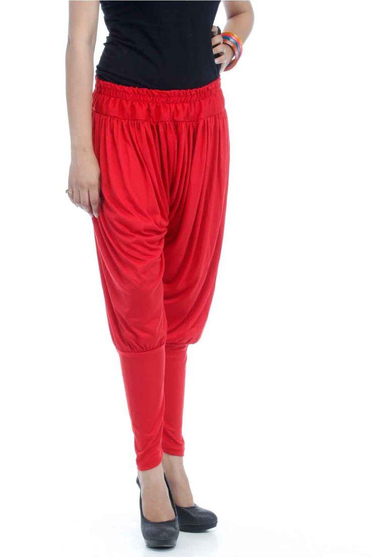 Adam n' eve Red Jodhpuri Cotton Salwar @ Rs.399 only