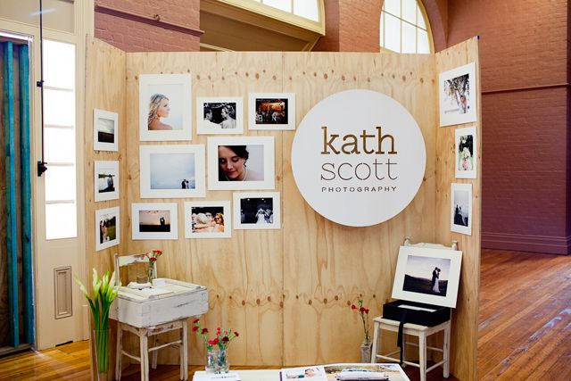 eco wedding expo, market stand for kath scott photography