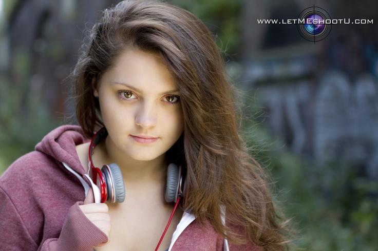 modelling pretty girl