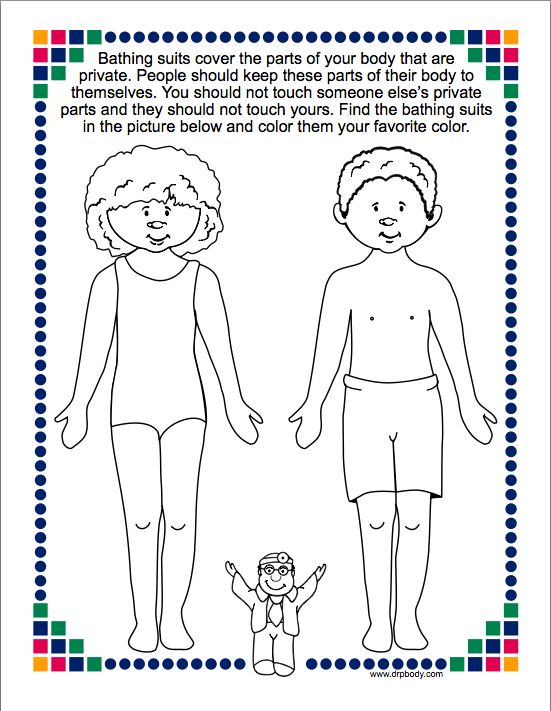 Worksheet Personal Development Printables To Color Elementary 28 best good touch bad touchthink first stay safe images on kindergarten lessons for sexual abuse prevention