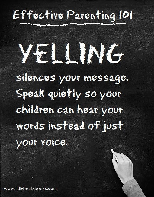 Speak quietly to be heard