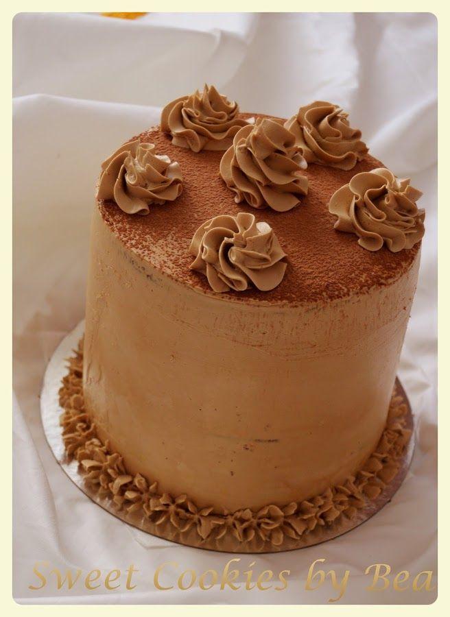 Tienes que incluir en tu recetario esta tarta de chocolate, baileys y café del blog SWEET COOKIES.