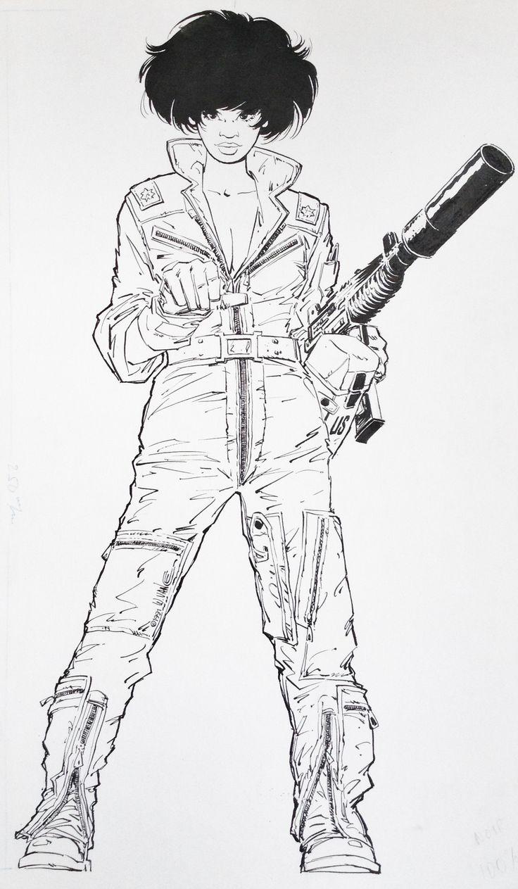 XIII - Major Jones by William Vance, Jean Van Hamme - Illustration