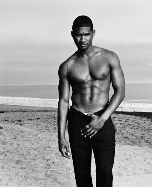 Usher..@Courtney Baker Murphy i knew you would be one of the only few to appreciate this :) haha