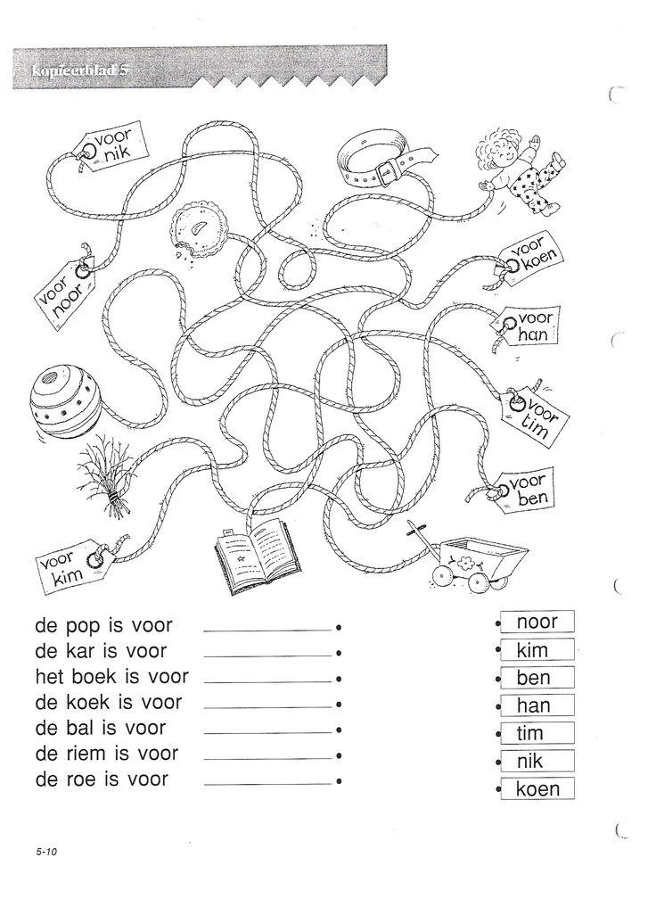 VLL Sinterklaas Kopieerblad 5