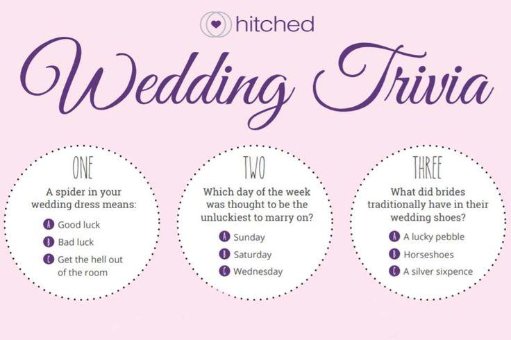 Best 25+ Wedding Trivia Ideas On Pinterest